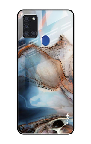 Volcanic Soot Samsung Galaxy A21s Glass Cases & Covers Online