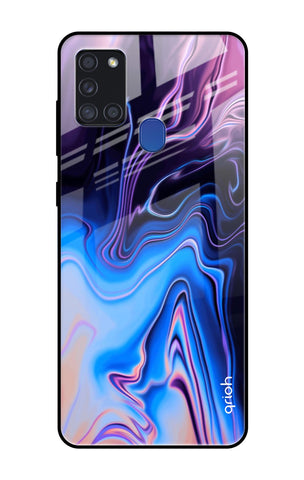 Psychic Texture Samsung Galaxy A21s Glass Cases & Covers Online