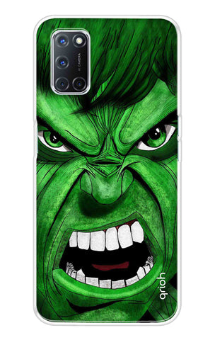 Angry Man Case Oppo A52 Cases & Covers Online