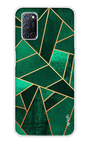 Emerald Tiles Case Oppo A52 Cases & Covers Online