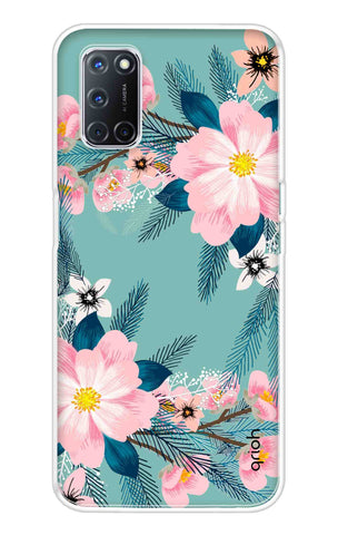 Graceful Floral Case Oppo A52 Cases & Covers Online