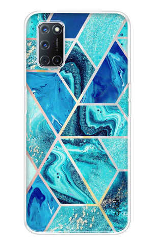 Aquatic Tiles Case Oppo A52 Cases & Covers Online