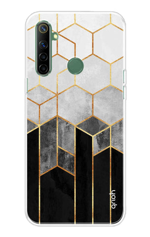 Tricolor Pattern Case Realme Narzo 10 Cases & Covers Online