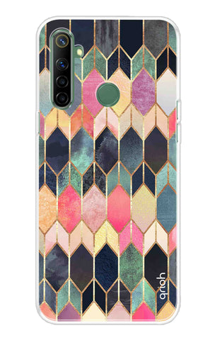 Colorful Brick Pattern Case Realme Narzo 10 Cases & Covers Online