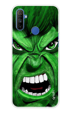 Angry Man Case Realme Narzo 10A Cases & Covers Online