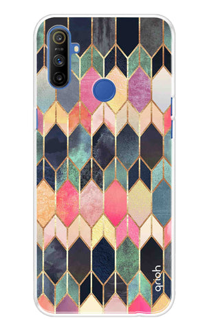 Colorful Brick Pattern Case Realme Narzo 10A Cases & Covers Online