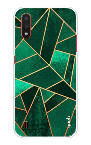 Emerald Tiles Case Samsung Galaxy M01 Cases & Covers Online