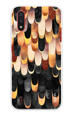 Bronze Abstract Case Samsung Galaxy M01 Cases & Covers Online