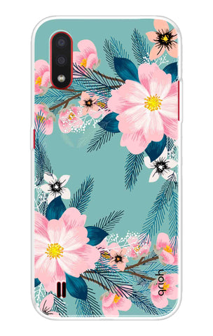 Graceful Floral Case Samsung Galaxy M01 Cases & Covers Online