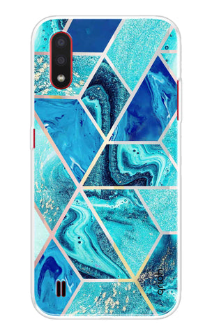 Aquatic Tiles Case Samsung Galaxy M01 Cases & Covers Online
