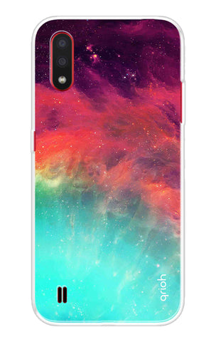 Colorful Aura Case Samsung Galaxy M01 Cases & Covers Online
