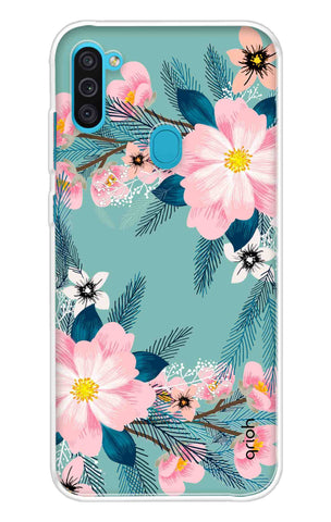 Graceful Floral Case Samsung Galaxy M11 Cases & Covers Online