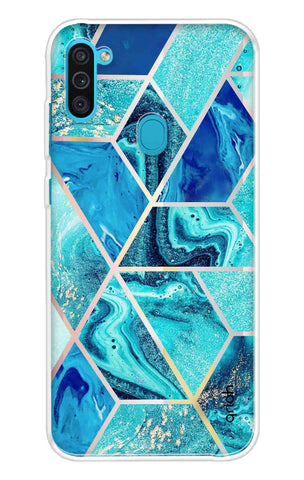 Aquatic Tiles Case Samsung Galaxy M11 Cases & Covers Online