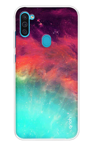 Colorful Aura Case Samsung Galaxy M11 Cases & Covers Online