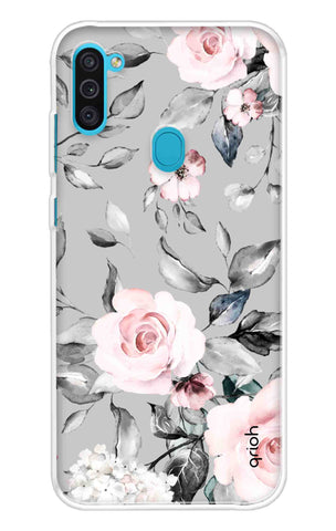Gloomy Roses Case Samsung Galaxy M11 Cases & Covers Online