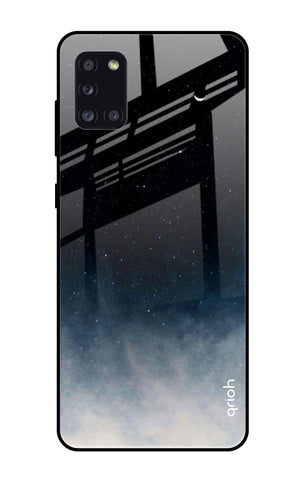 Black Aura Samsung Galaxy A31 Glass Cases & Covers Online