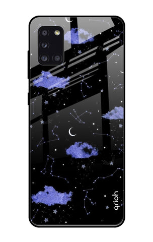 Constellations Samsung Galaxy A31 Glass Cases & Covers Online