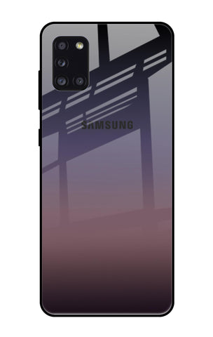 Grey Ombre Samsung Galaxy A31 Glass Cases & Covers Online