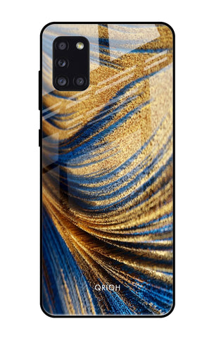 Exquisite Drape Samsung Galaxy A31 Glass Cases & Covers Online