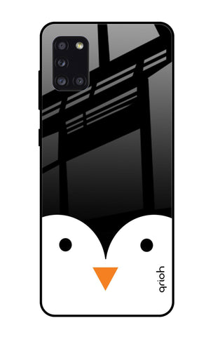 Cute Penguin Samsung Galaxy A31 Glass Cases & Covers Online