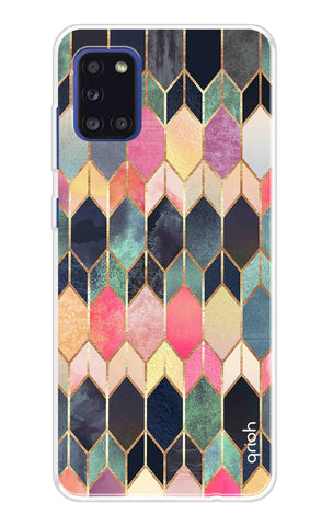 Colorful Brick Pattern Case Samsung Galaxy A31 Cases & Covers Online