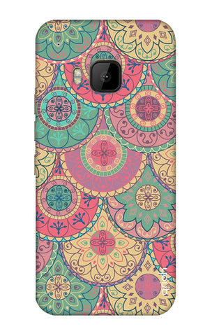 Colorful Mandala HTC M9 Cases & Covers Online