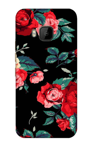 Wild Flowers HTC M9 Cases & Covers Online