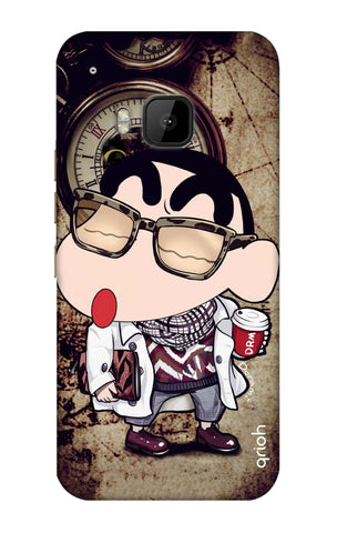Nerdy Shinchan HTC M9 Cases & Covers Online