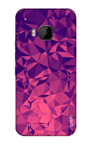 Purple Diamond HTC M9 Cases & Covers Online