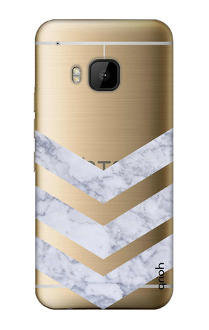 Marble Chevron HTC M9 Cases & Covers Online