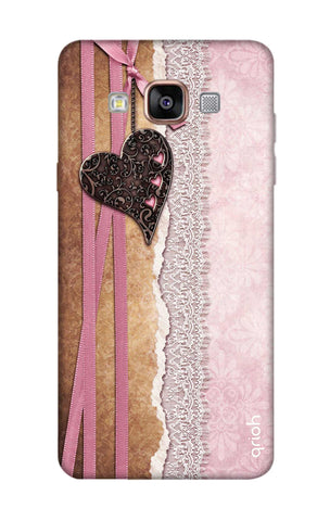 Heart in Pink Lace Samsung A7 Cases & Covers Online
