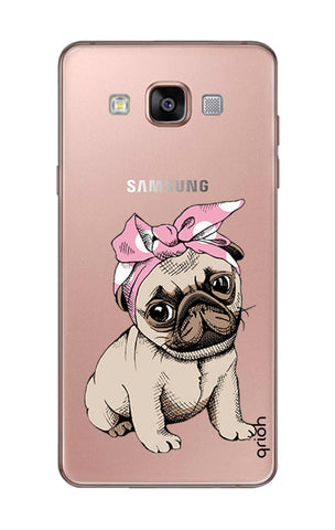 Pink Puggy Samsung A7 Cases & Covers Online