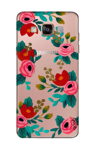Red Floral Samsung A7 Cases & Covers Online