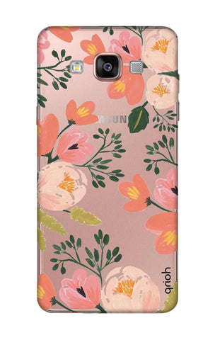 Painted Flora Samsung A7 Cases & Covers Online