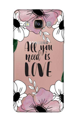 All You Need is Love Samsung A7 Cases & Covers Online