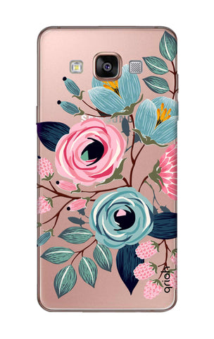 Pink And Blue Floral Samsung A7 Cases & Covers Online