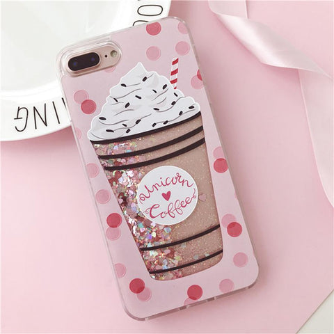 Coffee Glitter Case