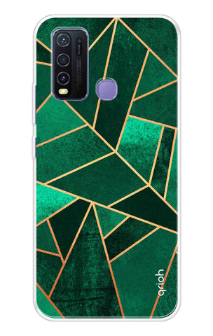 Emerald Tiles Case Vivo Y50 Cases & Covers Online