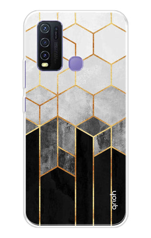 Tricolor Pattern Case Vivo Y50 Cases & Covers Online