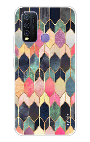 Colorful Brick Pattern Case Vivo Y50 Cases & Covers Online