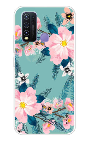Graceful Floral Case Vivo Y50 Cases & Covers Online