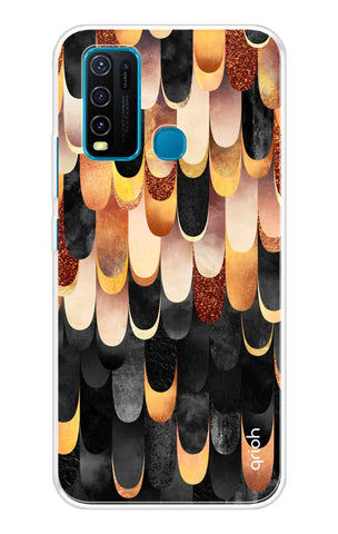 Bronze Abstract Case Vivo Y30 Cases & Covers Online