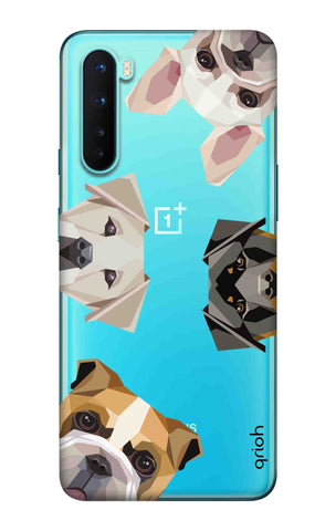 Geometric Dogs OnePlus Nord Cases & Covers Online