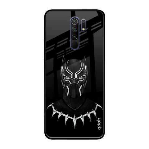 Dark Superhero Redmi 9 prime Glass Cases & Covers Online