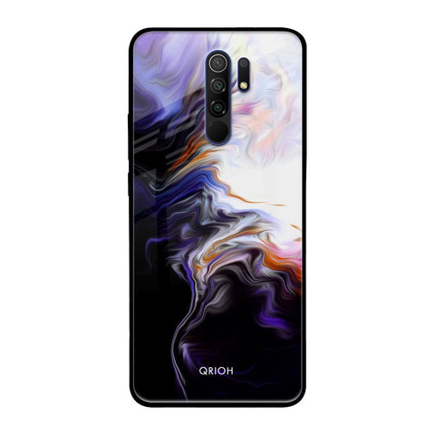 Enigma Smoke Redmi 9 prime Glass Cases & Covers Online