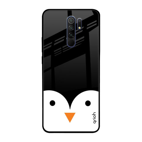 Cute Penguin Redmi 9 prime Glass Cases & Covers Online