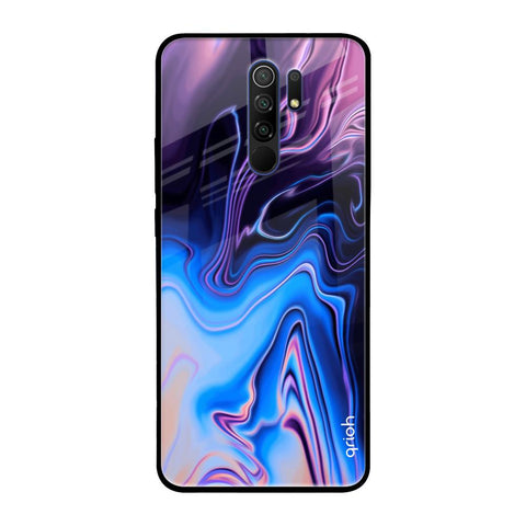 Psychic Texture Redmi 9 prime Glass Cases & Covers Online