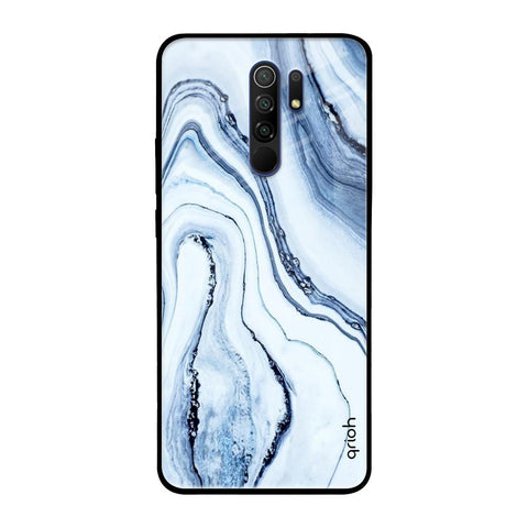 Frozen Ice Redmi 9 prime Glass Cases & Covers Online