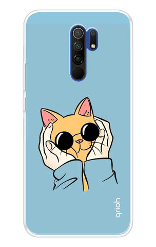 Adorable Kitty Case Redmi 9 Prime Cases & Covers Online