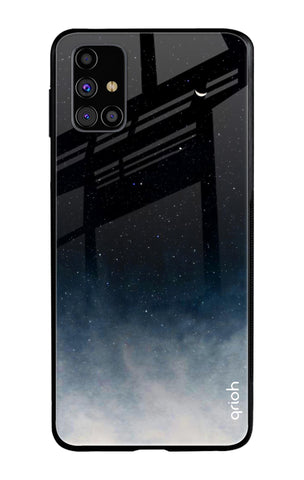 Black Aura Samsung Galaxy M31s Glass Cases & Covers Online